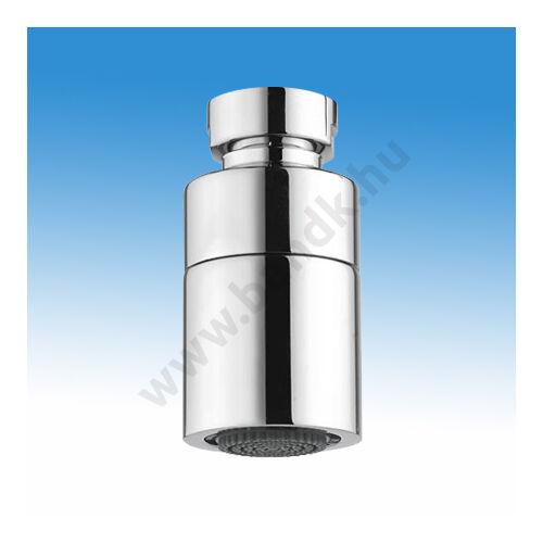 """Idral Zuhanyfej  1/2""""-os csatlakozással, D32 mm, állítható dőlésszögű vízkőlerakódásmentes szórótárcsával, krómozott"""