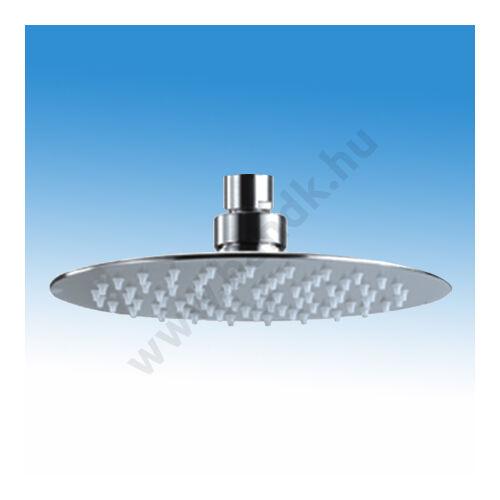 WEST Prémium Esőztető, zuhanyfej D200 mm-es állítható, rozsdamentes matt