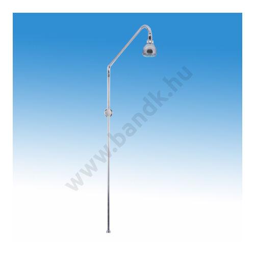 MOFÉM BASIC fix zuhanycső vízkőmentes zuhanyfejjel, fali rögzítőszettel, krómozott