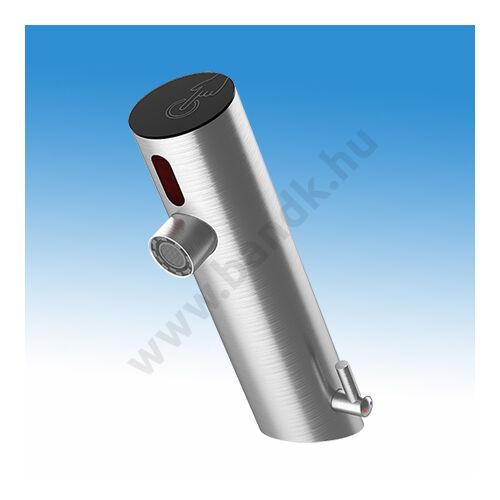 WEST infrás mosdócsap kapacitív indítási- és zárási lehetőséggel, hideg és meleg vízre, 6 V DC elemes/230V AC