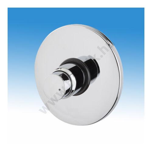 MCM Időzített, nyomógombos zuhanycsaptelep, falba süllyeszthető, kevert vízre, állítható időzítéssel (0-50 mp)