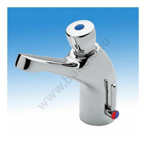 MCM időzített, nyomógombos mosdócsaptelep, hideg és meleg vízre (15±3 mp)
